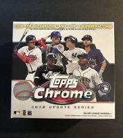 2020 MLB Topps Chrome Update Series Baseball Blaster Box- Factory Sealed