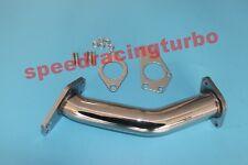 """Exhaust Downpipe Racing 2"""" Stainless Turbo Up Pipe Subaru Impreza WRX 02-14 STI"""