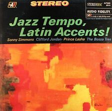JAZZ TEMPO LATIN ACCENTS Prince Lasha Sonny Simmons AUDIO FIDELITY Sealed LP