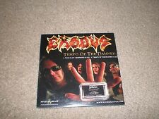 EXODUS / DEATH ANGEL CD Tempo/Art of Dying USA ADVANCE in Card Sleeve NEW METAL