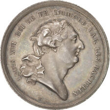 [#400535] France, The French Revolution, Token, 1793, Ms(60-62), Loos, Silver