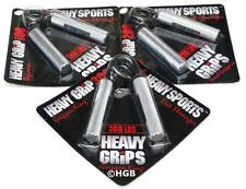 Heavy Grips Hand Gripper POPULAR COMBO HG100-200-300  Build grip + Finger Bands