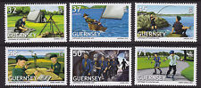 GUERNSEY 2007 EUROPA. CENTENARY OF SCOUTING SET OF 6 U/MINT