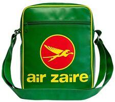 Air Zaire Airline Tasche -large- Umhängetasche - Kunstleder grün - LOGOSHIRT