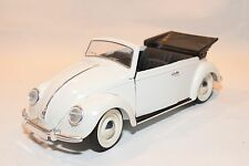 SOLIDO VW VOLKSWAGEN BEETLE KAFER COCCINELLE CABRIOLET WHITE NMINT CONDITION