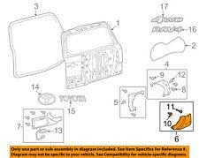 TOYOTA OEM 06-07 RAV4 Back Door-Trim Cover Right 7680542020J1
