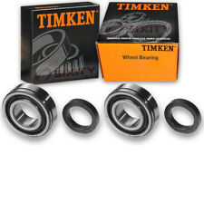 Timken Rear Wheel Bearing for 1955-1956 Chevrolet Bel Air Pair Left Right lq