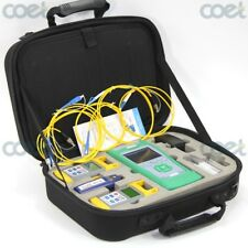 Fiber Optic Loss Tester Kit w/ QX30 OTDR/Fiber Power Meter OPM/Light Source/VFL