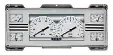 classic instruments 1940 ford deluxe fc4wh white hot finish style gauge 41-47tr