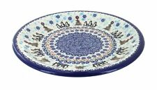 Arctic Holidays Dinner Plate Polish Pottery