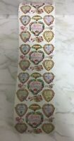 4 Sheet Lot Vintage Gifted Line John Grossman Valentine's Day Stickers