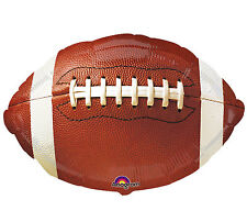 """Football 17"""" Foil Balloon Double Sided Birthday Party 3 Pack Event Helium"""