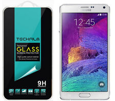 TechFilm® Tempered Glass Screen Protector Saver Shield For Samsung Galaxy Note 4