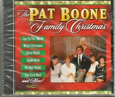 The Pat Boone Family Christmas Traditional Holiday Party Music CD 1998