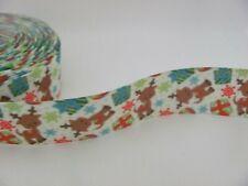 Christmas Reindeer Gifts 1 inch Grosgrain Ribbon