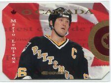 1996-97 Donruss Canadian Ice O Canada 13 Mario Lemieux 1995/2000