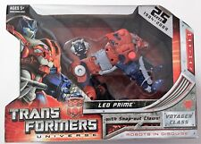 Transformers Universe 25th Anniversary Leo Prime NEW SEALED MINT!      0445