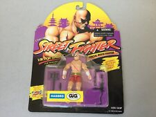 1994# CAPCOM SUPER STREET FIGHTER 2 II Rare SAGAT  FIGURE#HASBRO#MOSC