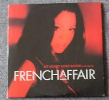 French Affair, my heart goes boom, CD single