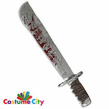 Oficial Deluxe Jason viernes 13th machete Halloween Disfraz Accesorio