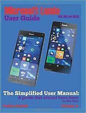Microsoft Lumia 550, 950 and 950 XL: The Simplified User Manual: A g... NEW BOOK