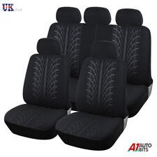 For Isuzu D-Max 2012 Heavy Duty Black Light Full Set Waterproof Seat Covers