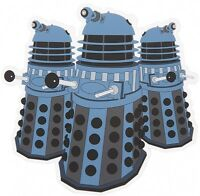 Doctor Who Daleks Shaped PVC drinks mat / coaster (hb)