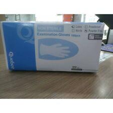 GLOVE  Examination blue   (100pcs/Box)(Latex Free)