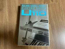 SN-U110 07 Electric Guitar - Roland PCM Card for U110, U220, CM32P, CM64, etc