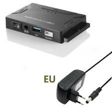 """USB 3.0 a SATA IDE 2.5"""" convertidor adaptador cable 3.5"""" Transferencia datos"""