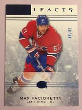 2014-15 UD Artifacts Max Pacioretty #22 Sapphire #/85