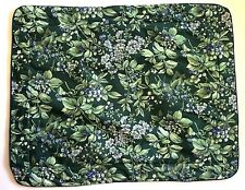 NEW Laura Ashley Brambleberry Standard Pillow Sham Padded Green Blue Berries
