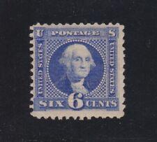 US 115 6c Washington Mint Fine OG H SCV $2500