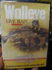 Lindner's Angling Edge Fishing Dvd Fish Video / Walleye Live Bait Mastery