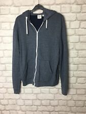 """TOPMAN MENS BLUE HOODIE SIZE XS TO FIT CHEST 34"""" - 36"""""""