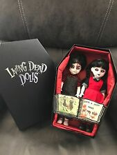 living dead dolls~Jack and Jill~opened once~never displayed (make offer)