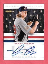 2013 Tommy Thorpe Panini USA Baseball Rookie Auto /399 - Chicago Cubs