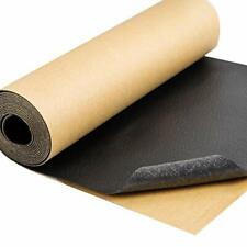 Leather Repair Tape Black Self-Adhesive Patch for Car Seats Couch Furniture