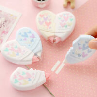 2pcsLove Heart Correction Tape Kawaii Student Stationery Office School SuppliSN