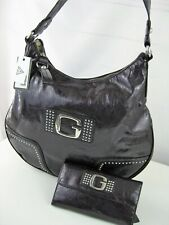 New GUESS Hipppy Glam Purple Hobo Bag Handbag and Wallet