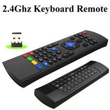 Wireless Keyboard Remote With 2.4GHz Fly Air Mouse For Smart Android TVs Boxes