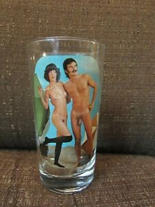 Vintage SIP 'N STRIP Stripping Nude Men Women Choose Your Glass
