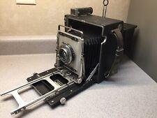 GRAFLEX SPEED GRAPHIC 4x5 PHOTO CAMERA Film Holder And Extras