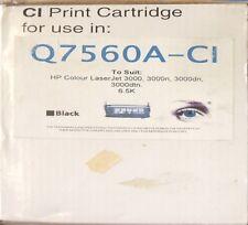 Q7560A Black Printer Cartridge for HP Color LaserJet 3000, 3000n, 3000dn, 3000dt