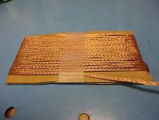 """Free Ship, 3/32"""" wide x 12 ft long Braided Copper Wire"""
