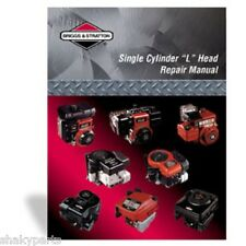 Genuine Briggs & Stratton Single Cylinder L Head Repair Manual 270962
