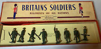 Britains Soldiers Regiments Of All Nations - Infantry, Service Dress - No. 195
