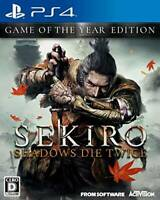 SEKIRO SHADOWS DIE TWICE GAME OF THE YEAR EDITION PS4 PLJM-16714 Japan 2020