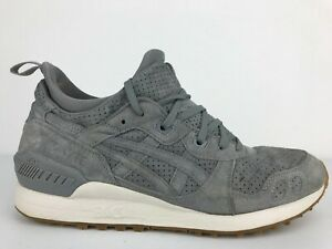 ASICS GEL-Lyte MT Mens Casual Trainers Running Shoes Size 10 Aluminum/Grey
