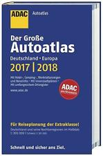 Großer ADAC Autoatlas 2017/2018, Deutschland 1:300 000  Europa 1:750 000 / Atlas